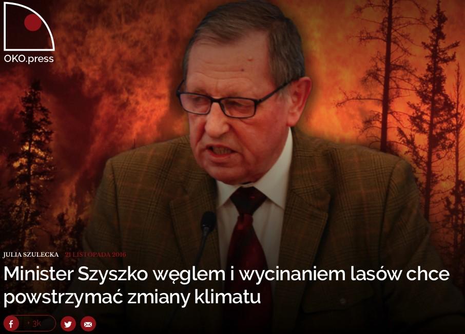 Julia Szulecka's guest column on carbon forestry in Poland's popular watchdog daily